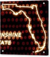 Florida - The Sunshine State Acrylic Print