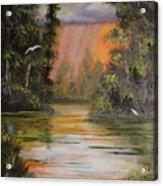 Florida Thunderstorm Acrylic Print