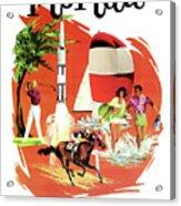 Florida, Vintage Travel Poster Acrylic Print