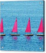 Flotilla Acrylic Print