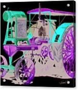 Flour City Gas Tractor Acrylic Print