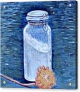 Flour Verses Flower Acrylic Print