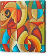 Floutine With Rhythm Acrylic Print