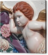Flower Angel Acrylic Print