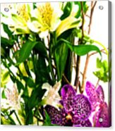 Flower Arrangement 1 Acrylic Print
