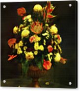 Flower Arrangement Acrylic Print