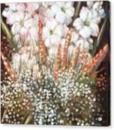 Flower Arrangment Acrylic Print