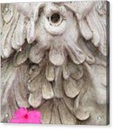 Flower Blower Acrylic Print