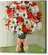 Flower Bouquet Creations Catus 1 No. 1 Acrylic Print