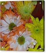 Flower Bouquet Acrylic Print