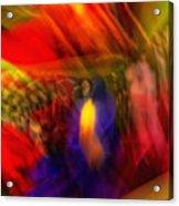 Flower Bouquet Twist Acrylic Print