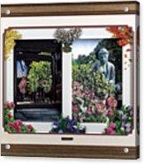 Flower Calendar Acrylic Print