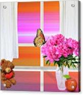 Flower Color Acrylic Print