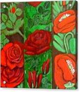 Flower Composition 4 Acrylic Print