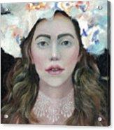 Flower Crown Acrylic Print
