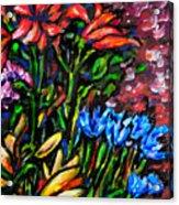 Flower Culture 213 Acrylic Print