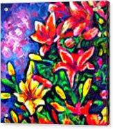 Flower Culture 297 Acrylic Print