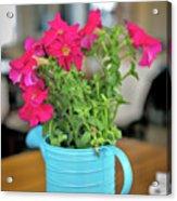 Flower Decoration Acrylic Print