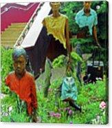 Flower Dome 34 Acrylic Print