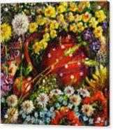 Flower Extravaganza Acrylic Print