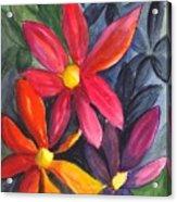 Flower Festival Acrylic Print