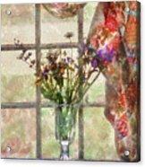 Flower - Flower - A Vase Of Flowers  Acrylic Print