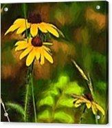 Flower Friends Acrylic Print