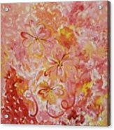 Flower Fun Acrylic Print