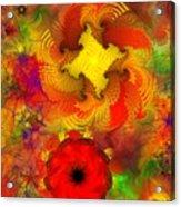 Flower Garden 8-27-09 Acrylic Print