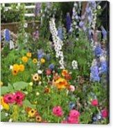 Garden Delight Acrylic Print