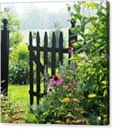 Flower Gate Acrylic Print