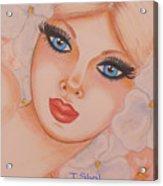 Flower Girl 5 Acrylic Print