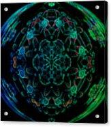 Flower Globe Acrylic Print
