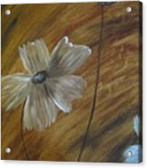 Flower In The Woods Acrylic Print