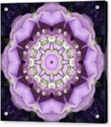Flower Kaleidoscope 004 Acrylic Print