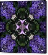 Flower Kaleidoscope_004 Acrylic Print