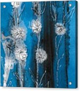 Flower Lineup Acrylic Print