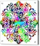 Flower Mandala 4 Acrylic Print
