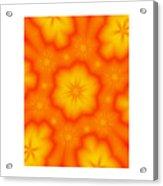 Flower Mandala 5 Acrylic Print