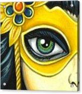 Flower Masquerade Acrylic Print