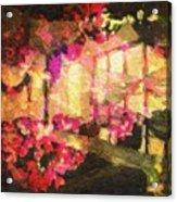 Flower Mix Acrylic Print