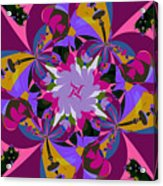 Flower Mont Acrylic Print
