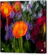 Flower Motion Acrylic Print