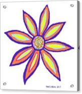 Flower Of Joy Acrylic Print