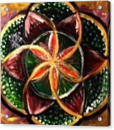 Flower Of Life Acrylic Print