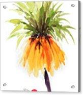 Flower Painting 2 Acrylic Print