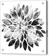 Flower Painting 3 Acrylic Print