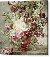 Flower Painting Acrylic Print