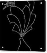 Flower Pot Acrylic Print