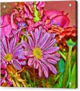 Flower Power 2 Acrylic Print